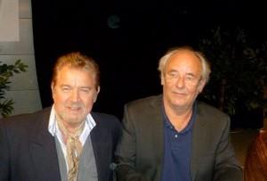 Yann-Ber Tillenon et le chanteur Maxime Le Foresti