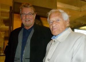 Yann-Ber Tillenon et Jean d'Ormesson_4 novembre 2011